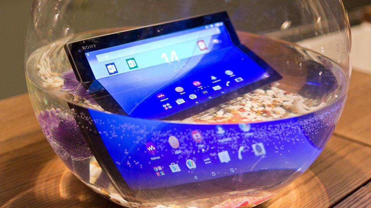 Anteprima Sony Xperia Z4 Tablet