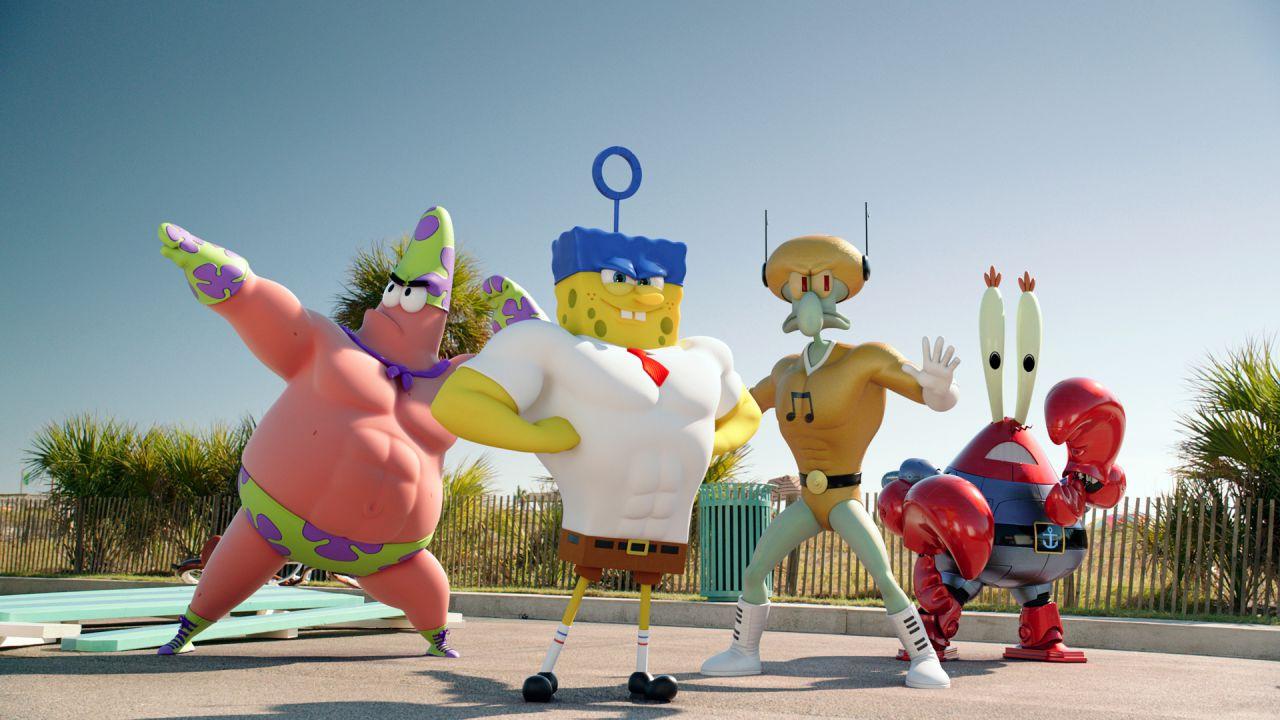 recensione SpongeBob - Fuori dall'acqua