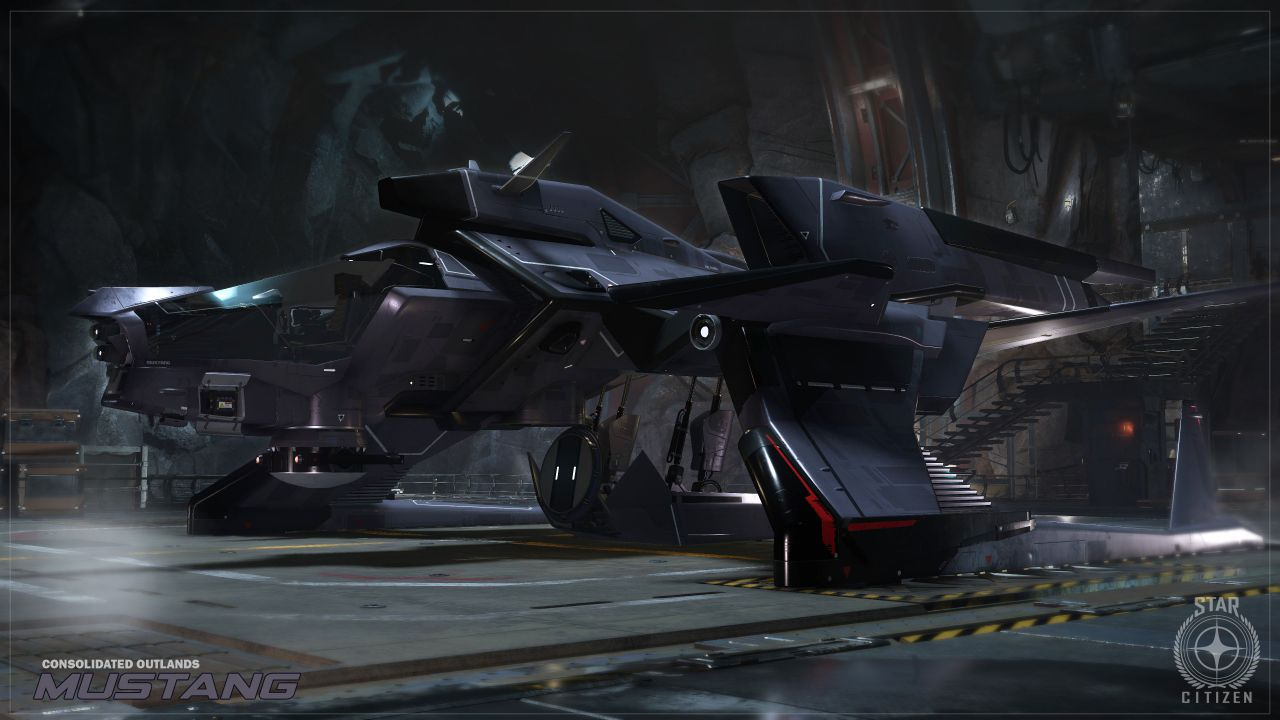 hands on Star Citizen - Hangar Module