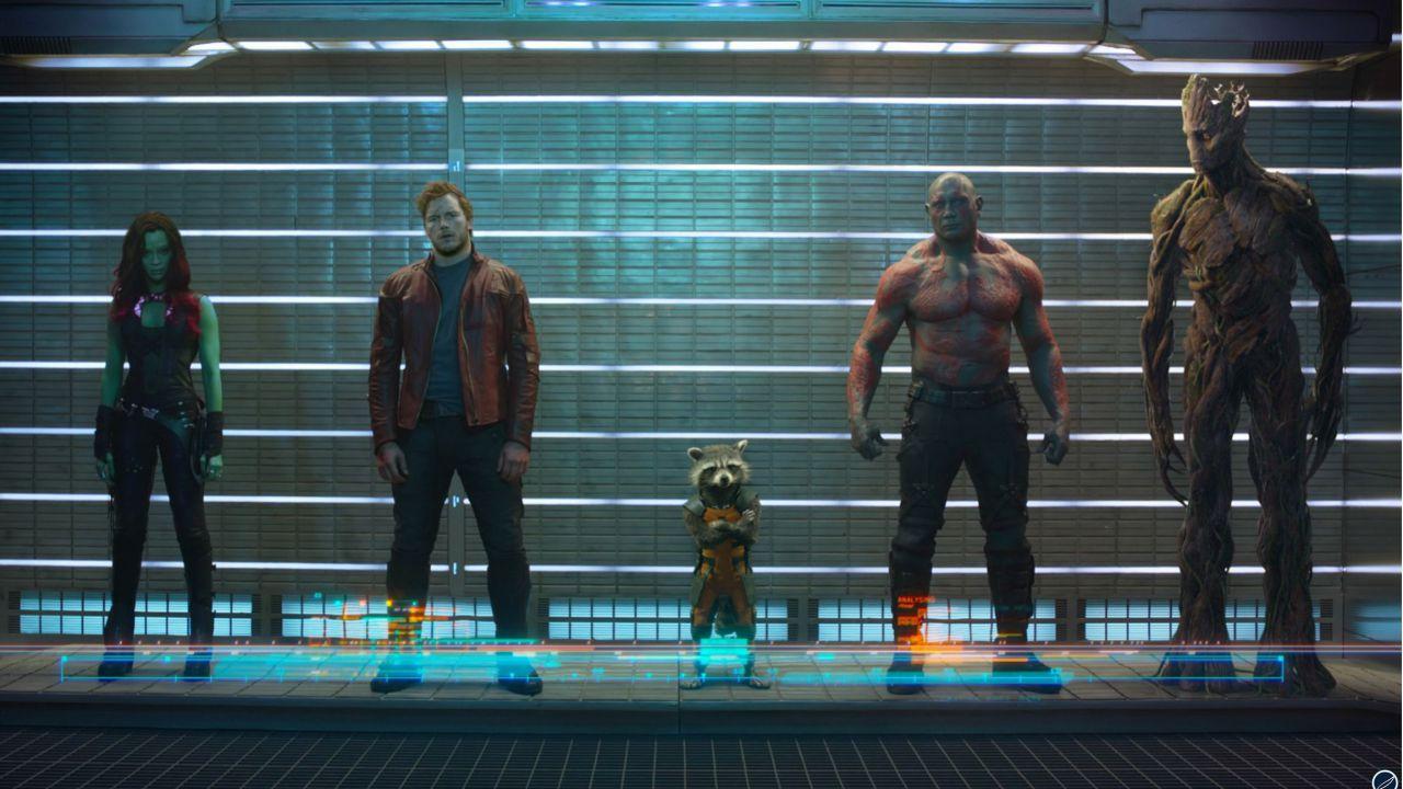 speciale Star-Lord, Groot, Rocket Raccoon, Drax e Gamora: I Guardiani della Galassia