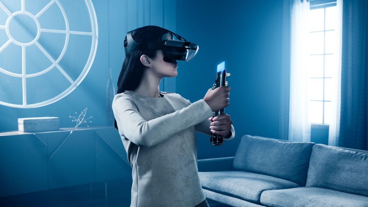 Star Wars: Jedi Challenges, la prova con visore Lenovo Mirage