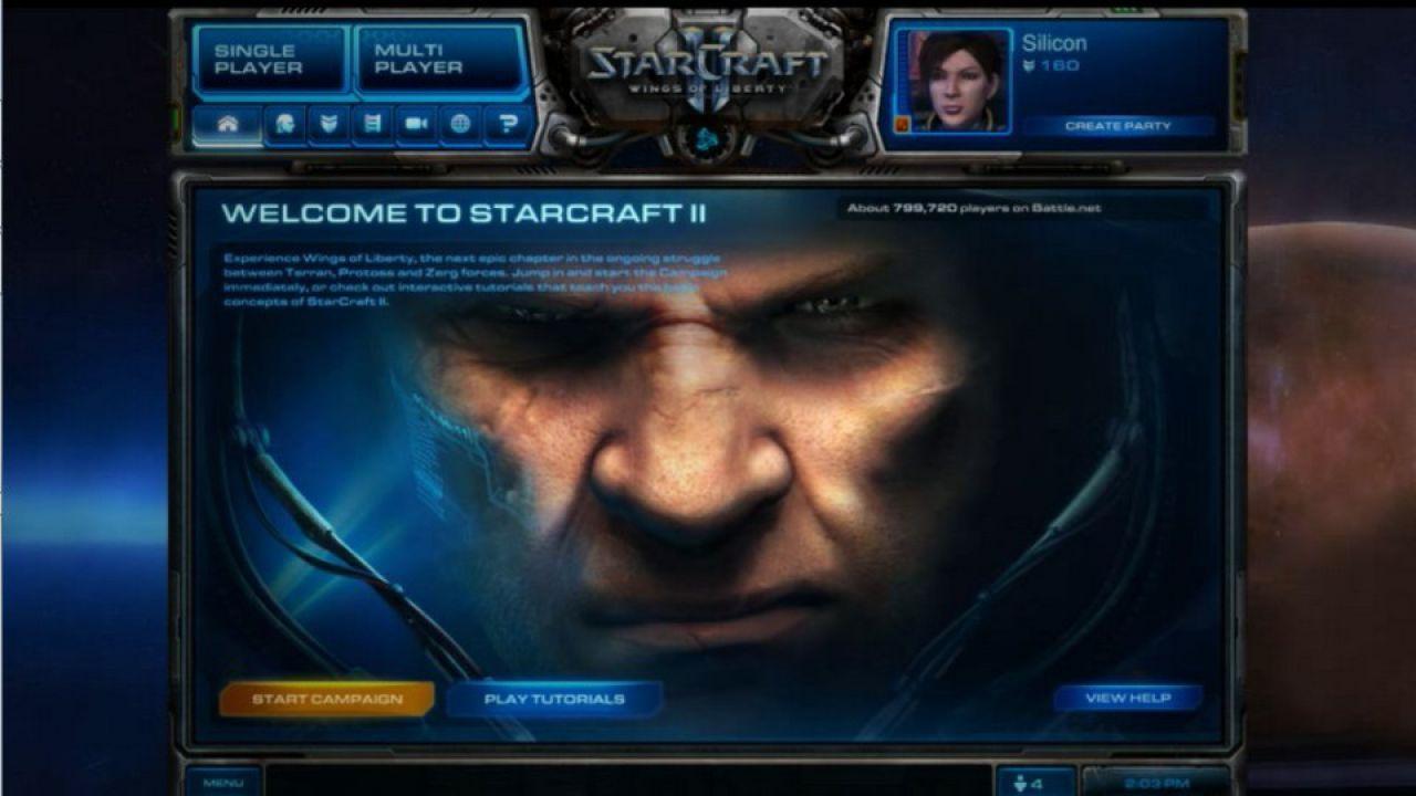 hands on Starcraft II Singleplayer