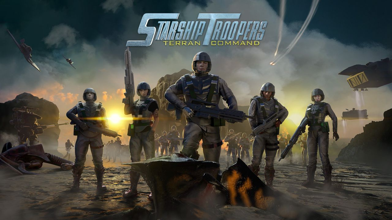 anteprima Starship Troopers Terran Command: uno strategico ispirato al film del 1997