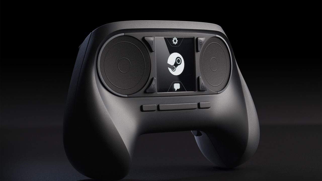 hands on Steam Controller