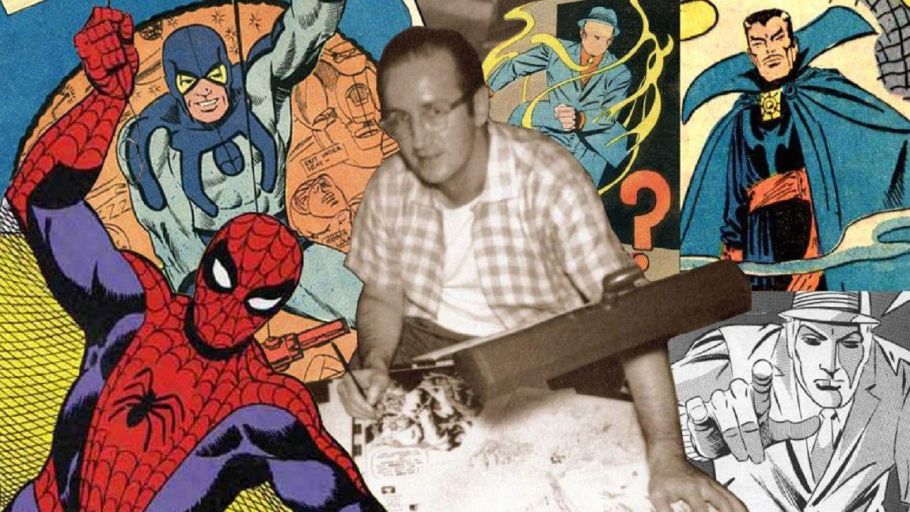 speciale Steve Ditko: vita, stile e opere del papà di Spider-Man e Doctor Strange