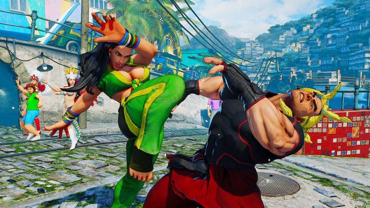 provato Street Fighter 5 - Zangief e Dhalsim