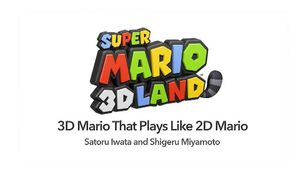 hands on Super Mario 3D Land