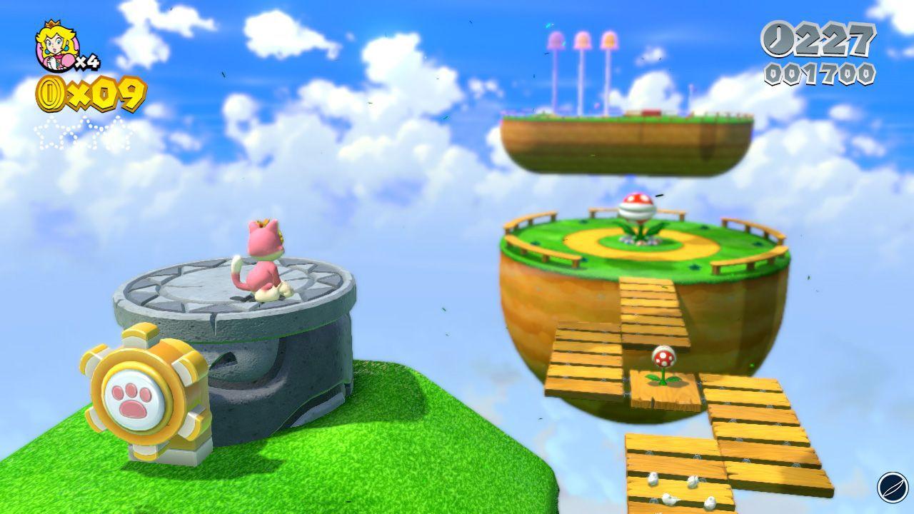 hands on Super Mario 3D World