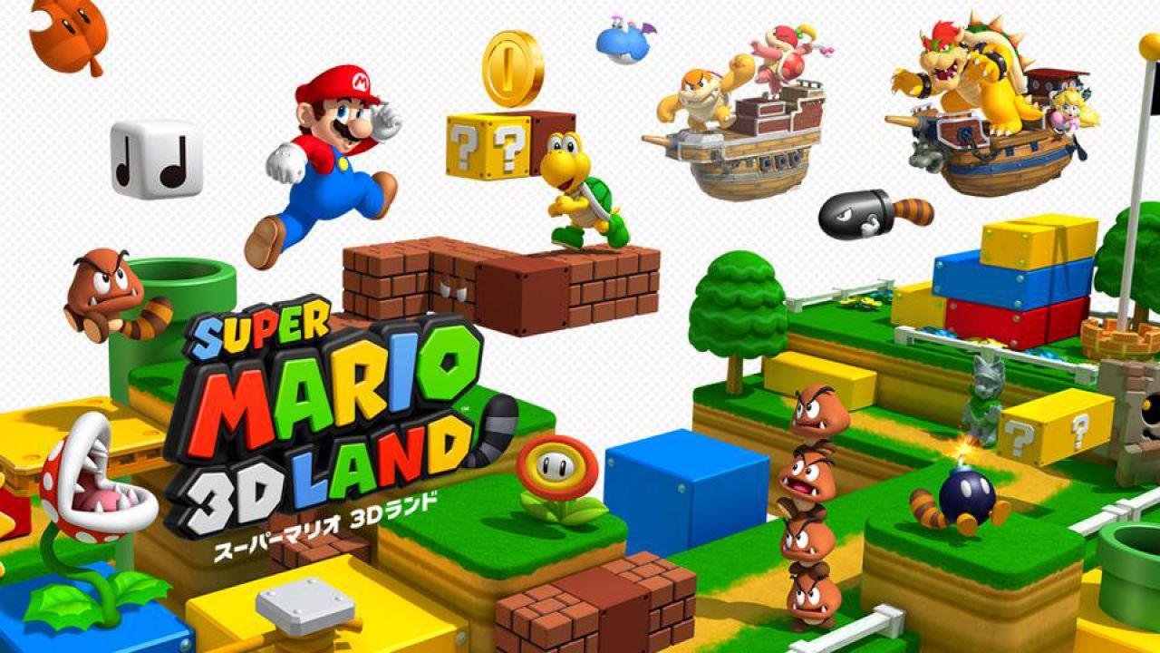 hands on Super Mario 3DS