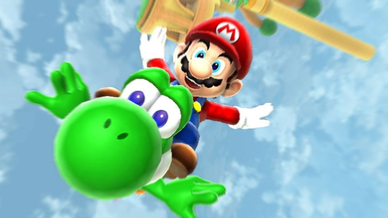 provato Super Mario Galaxy 2