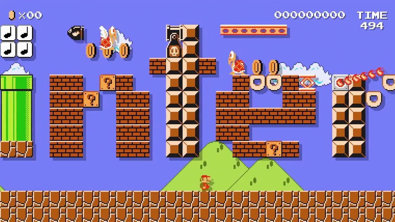 provato Super Mario Maker