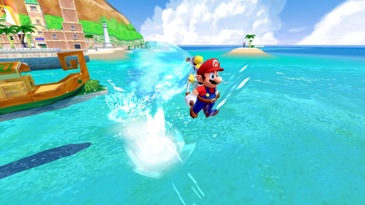 Super Mario Sunshine: guida all'avventura su Isola Delfinia