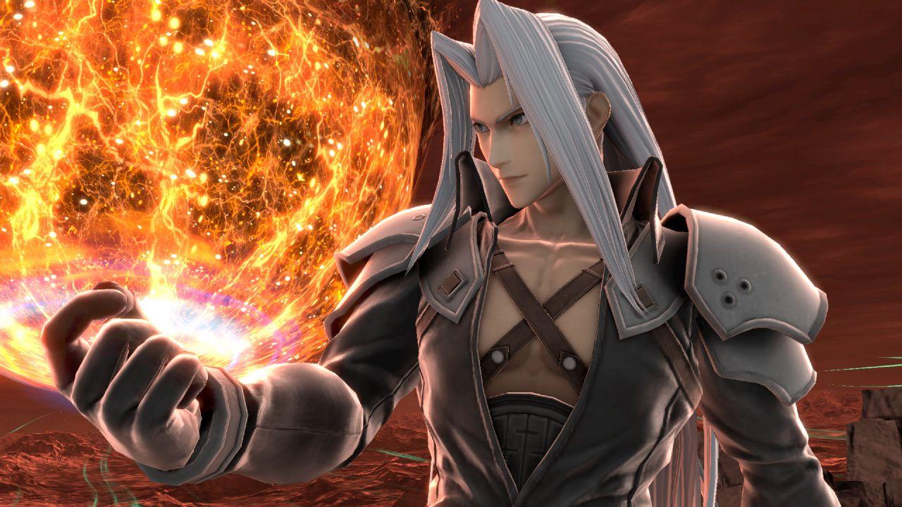 speciale Super Smash Bros Ultimate: arriva Sephiroth, il villain di Final Fantasy 7