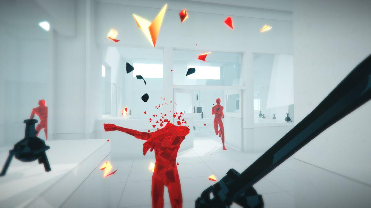 provato SUPERHOT VR provato su Oculus Rift