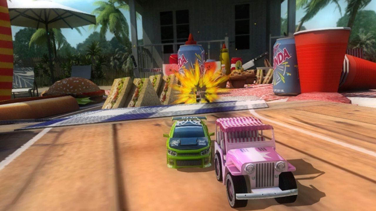 Table Top Racing Recensione: le macchinine dei creatori di Wipeout sfrecciano su iPhone