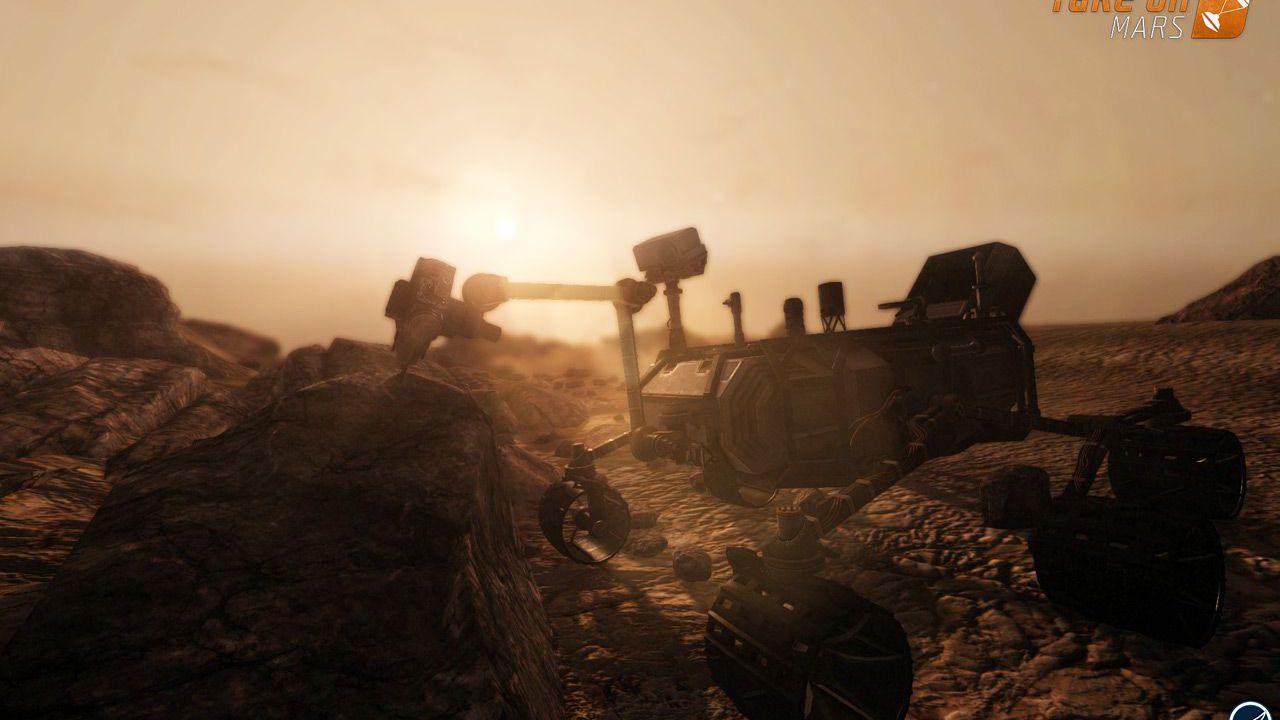 hands on Take On Mars