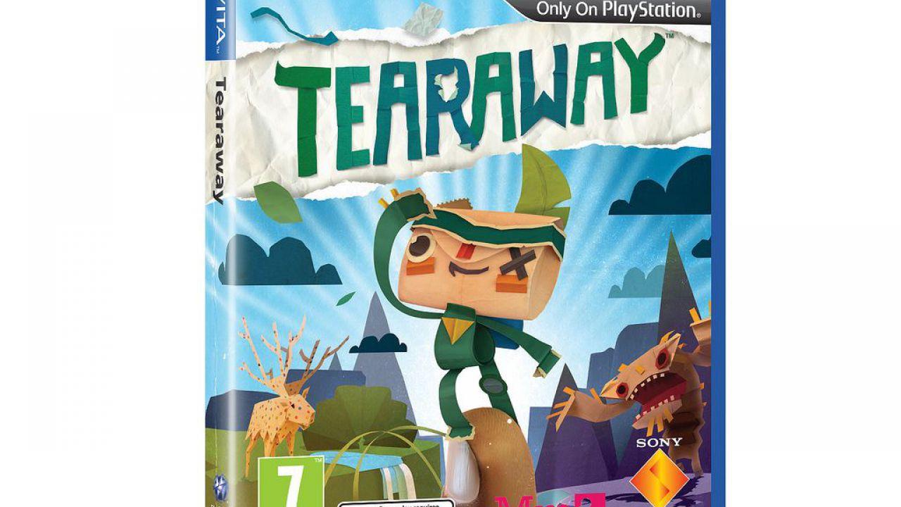 hands on Tearaway