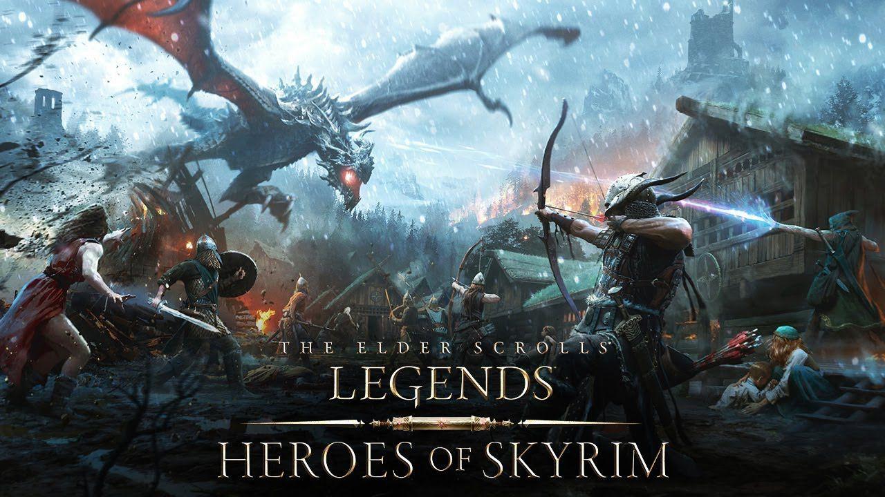recensione The Elder Scrolls Legends: Eroi di Skyrim