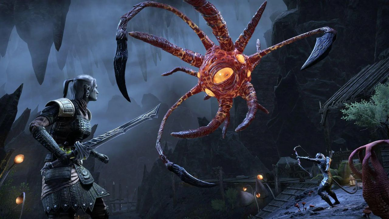 The Elder Scrolls Online Flames of Ambition: tour del dungeon The Cauldron