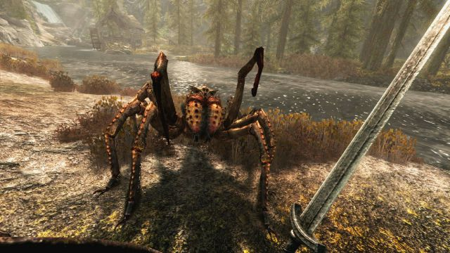 The Elder Scrolls V Skyrim in Realtà Virtuale provato su PlayStation VR