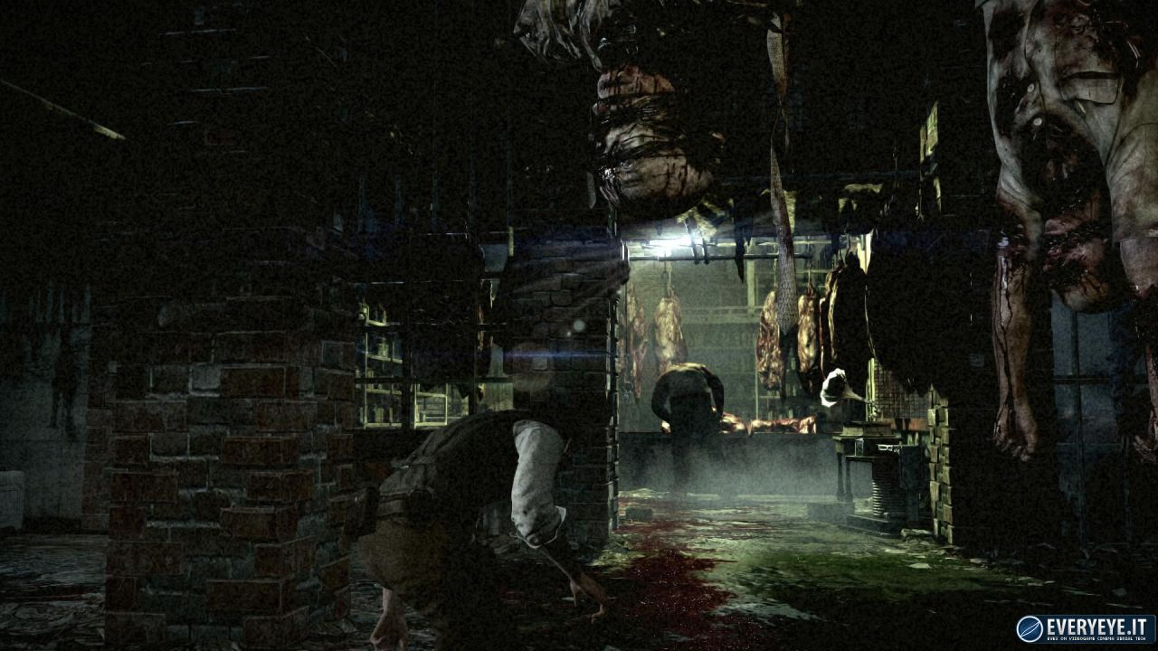 hands on The Evil Within