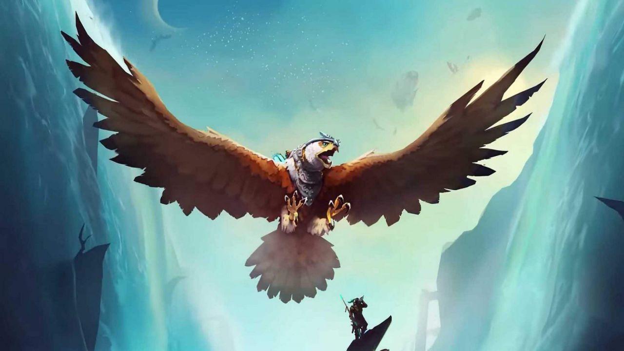 recensione The Falconeer Recensione: un falco in volo tra esplorazione e sparatutto