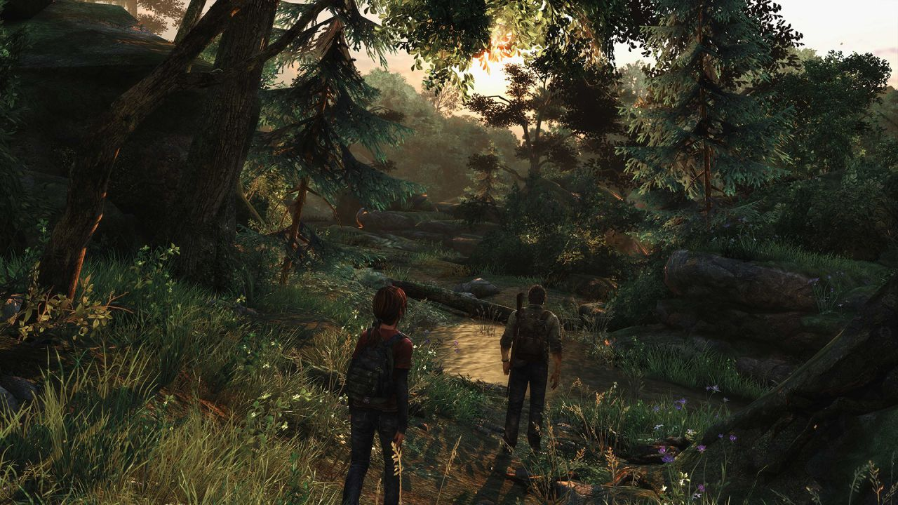 hands on The Last of Us