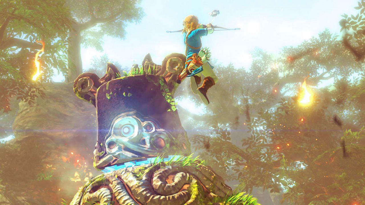 anteprima The Legend of Zelda Breath of the Wild: nuova demo e trailer dai Game Awards