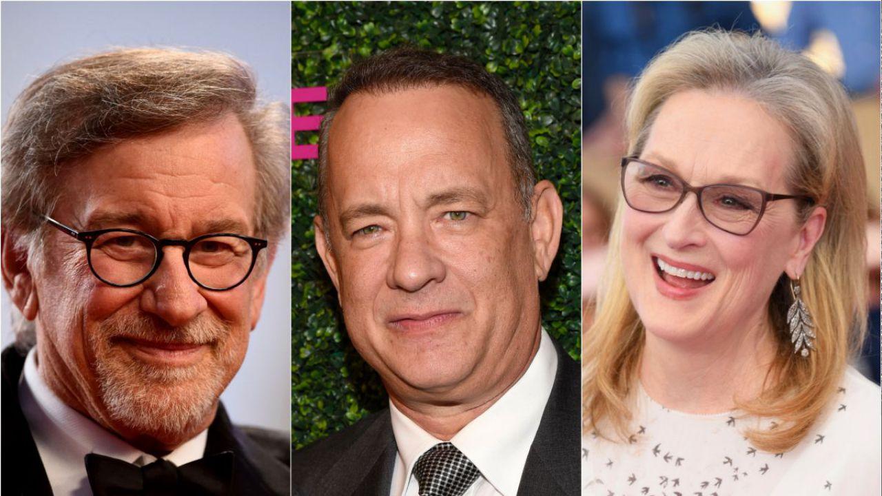 The Post: intervista a Steven Spielberg, Tom Hanks e Meryl Streep
