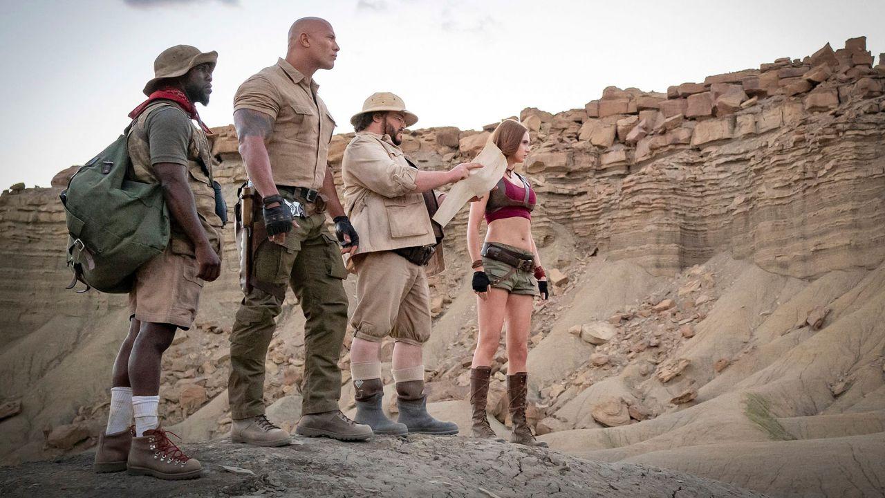 speciale The Rock diventa Danny DeVito nel trailer di Jumanji: The Next Level