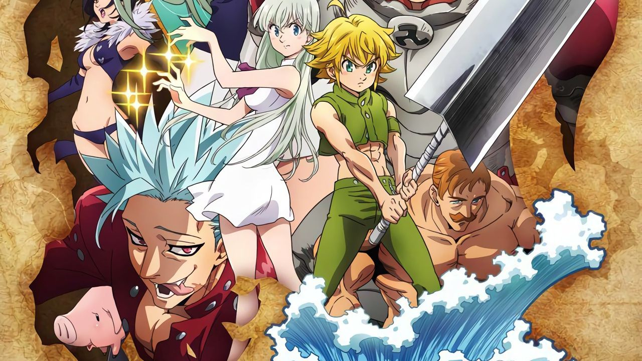 The Seven Deadly Sins: Wrath of the Gods, la Stagione 3 arriva su Netflix