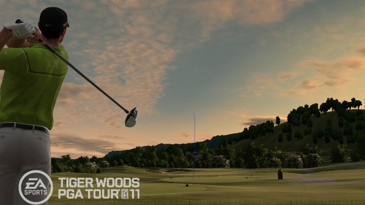 hands on Tiger Woods PGA TOUR 11