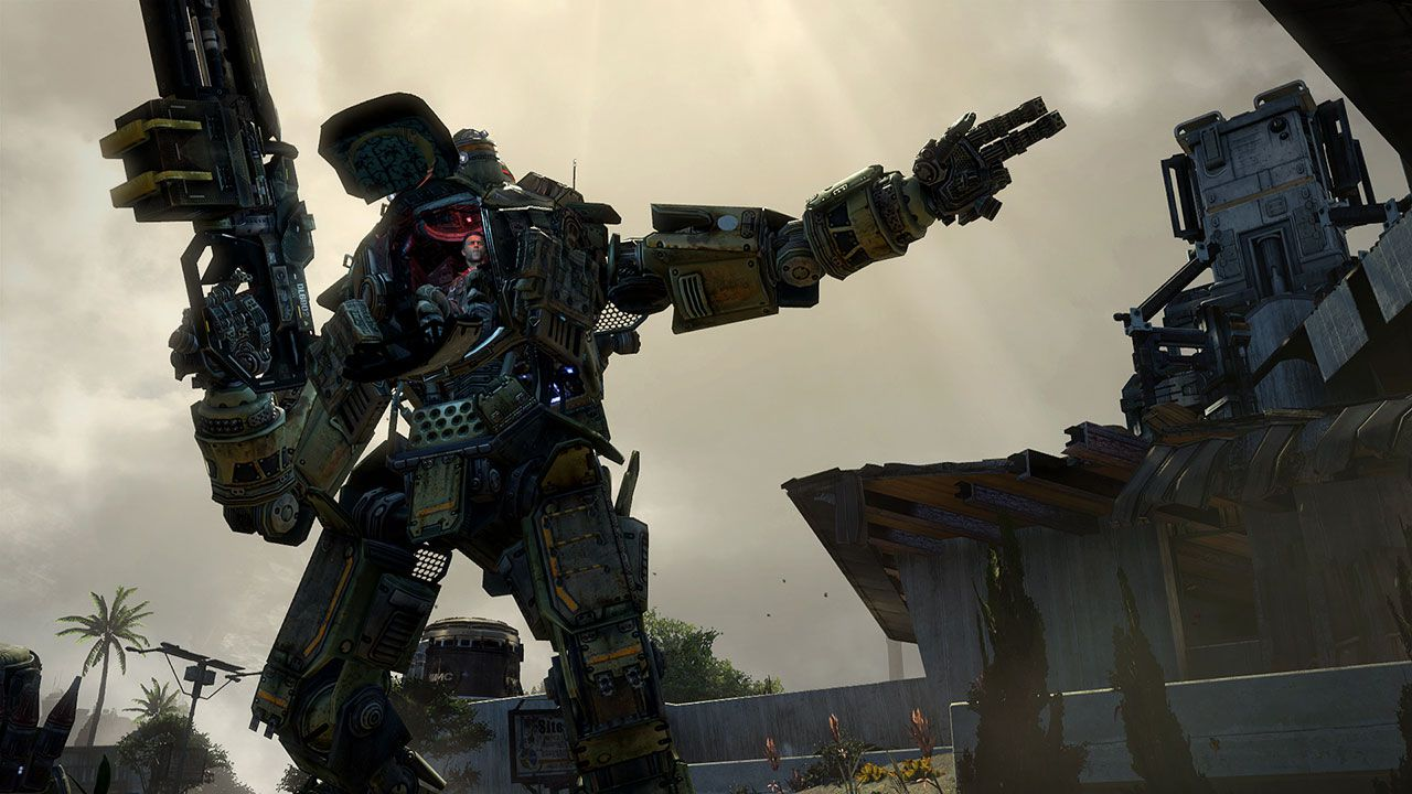 hands on Titanfall