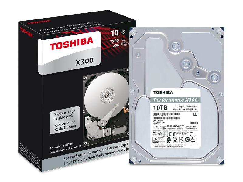 Toshiba X300 Recensione: 14 TB di spazio per professionisti e gamer