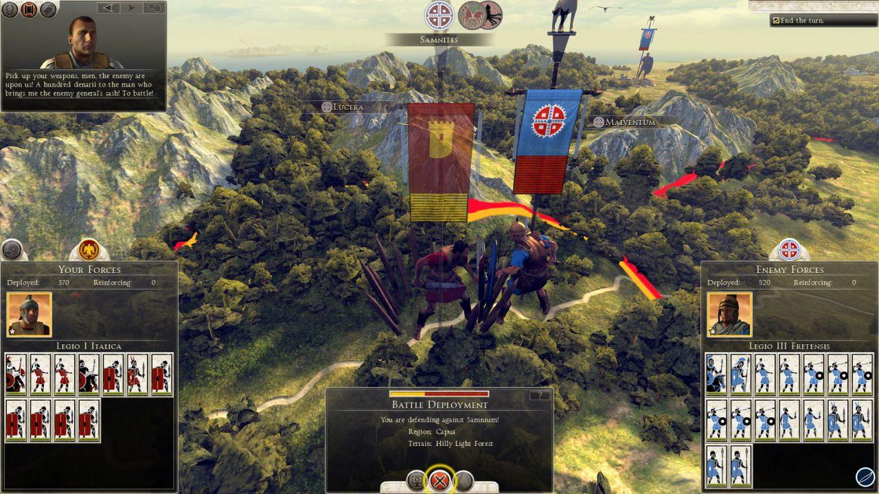 anteprima Total War Rome II