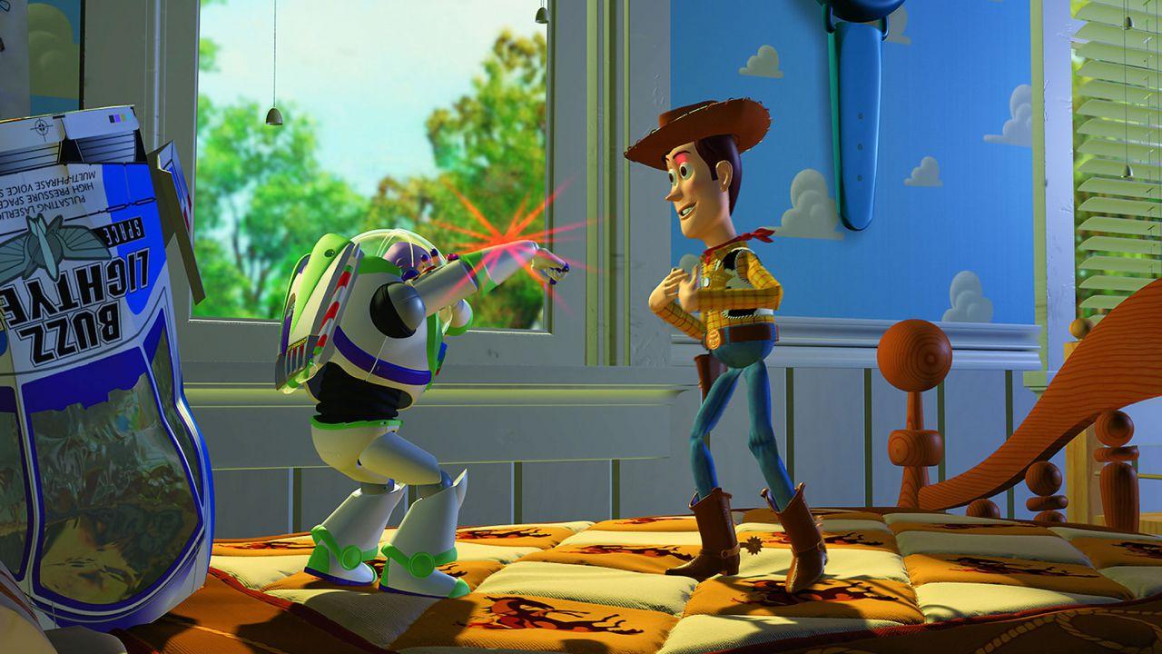 speciale Toy Story: l'arrivo di Buzz Lightyear nel film Pixar
