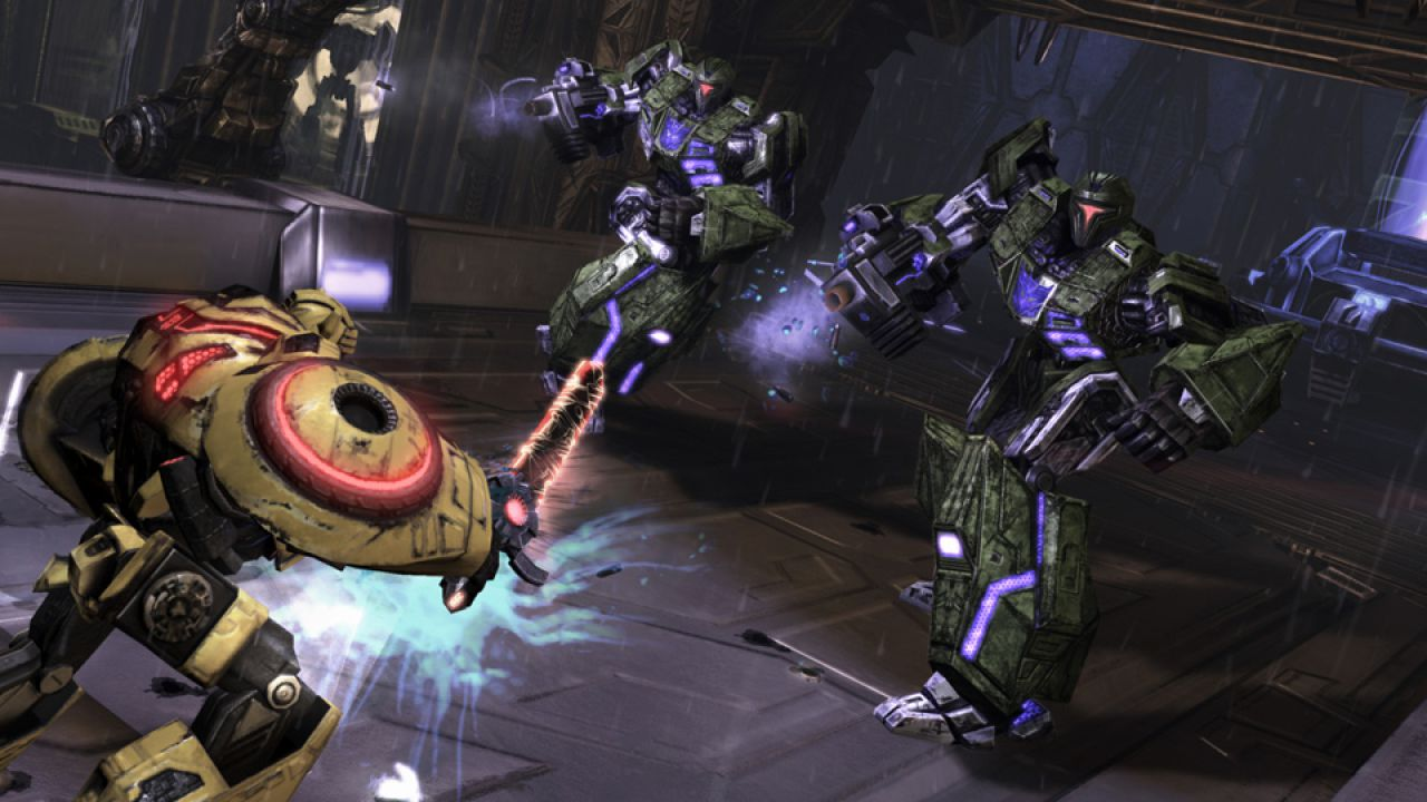 anteprima Transformers: War for Cybertron