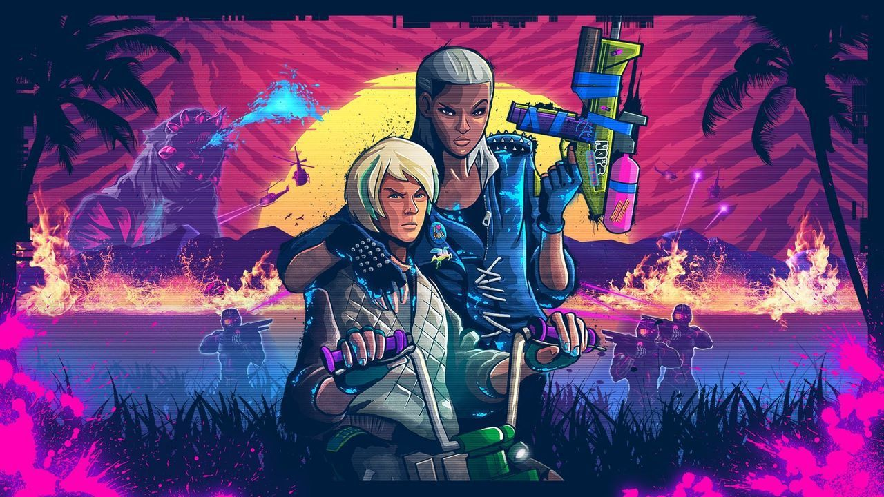 recensione Trials of the Blood Dragon