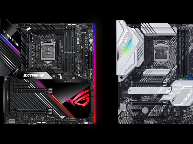Tutte le schede madri Asus Z490 in arrivo per processori Intel Comet Lake