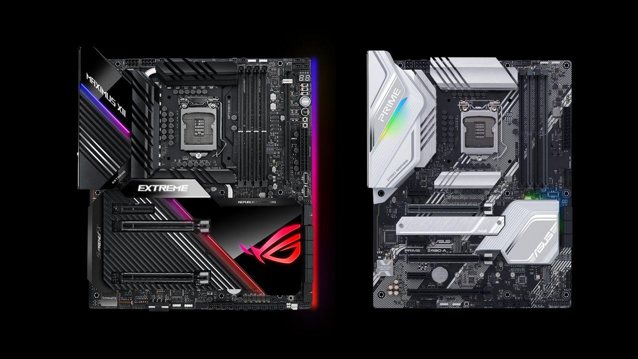 speciale Tutte le schede madri Asus Z490 in arrivo per processori Intel Comet Lake