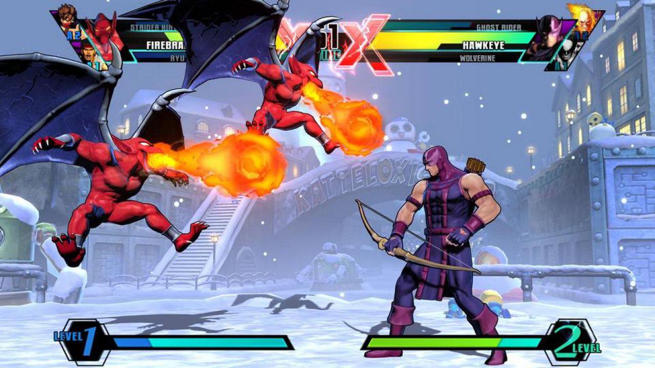 hands on Ultimate Marvel vs Capcom 3