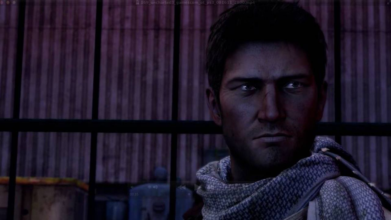 hands on Uncharted 3