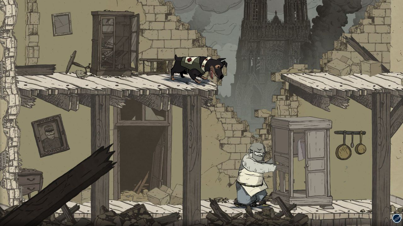 hands on Valiant Hearts: The Great War