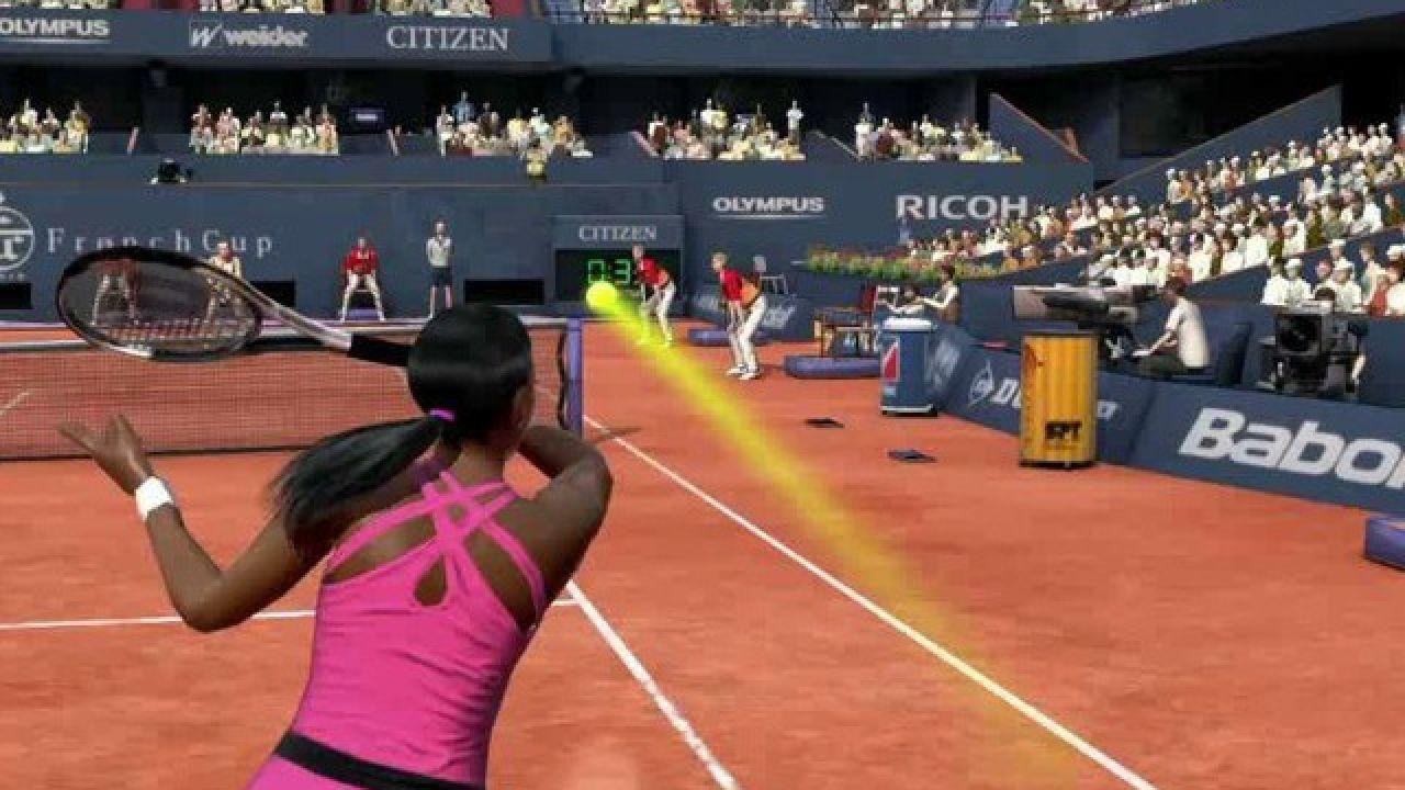 hands on Virtua Tennis 4