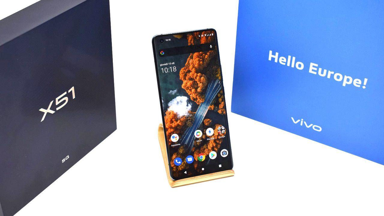 vivo X51 5G Recensione: lo smartphone 5G con Gimbal integrato