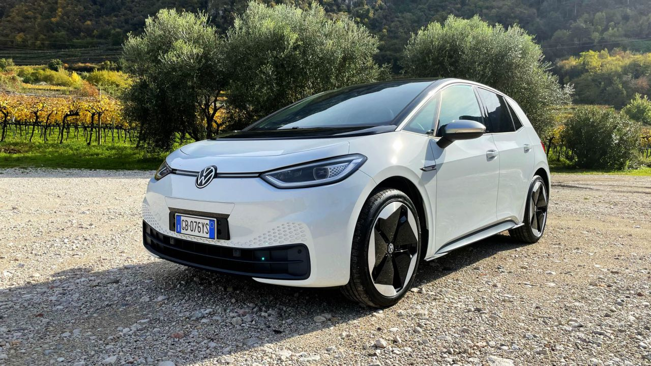 Volkswagen ID.3: la prova dell'elettrica dove la tecnologia regna sovrana