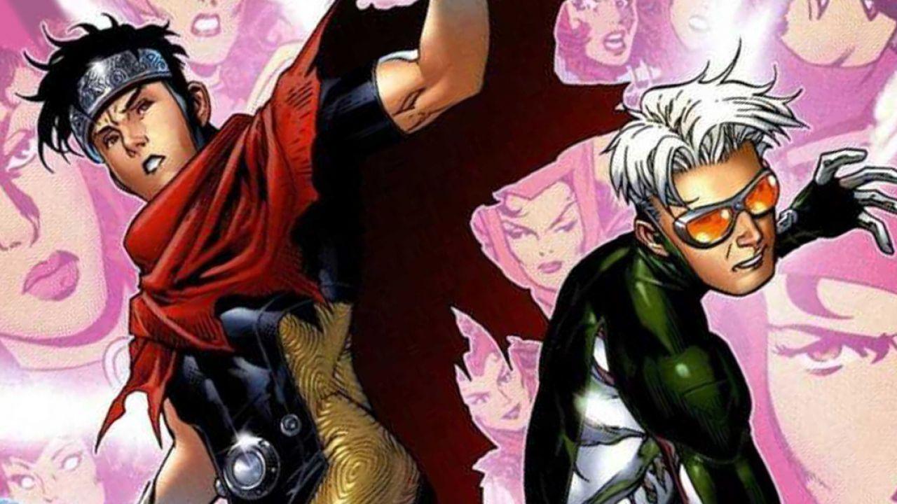 speciale WandaVision: le storie a fumetti di Wiccan e Speed, i figli di Scarlet