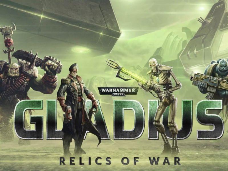 Warhammer 40.000 Gladius Relics of Wars: la guerra dei mondi
