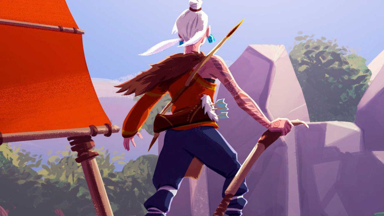 provato Windbound: un survival ispirato a Zelda Breath of the Wild e Don't Starve