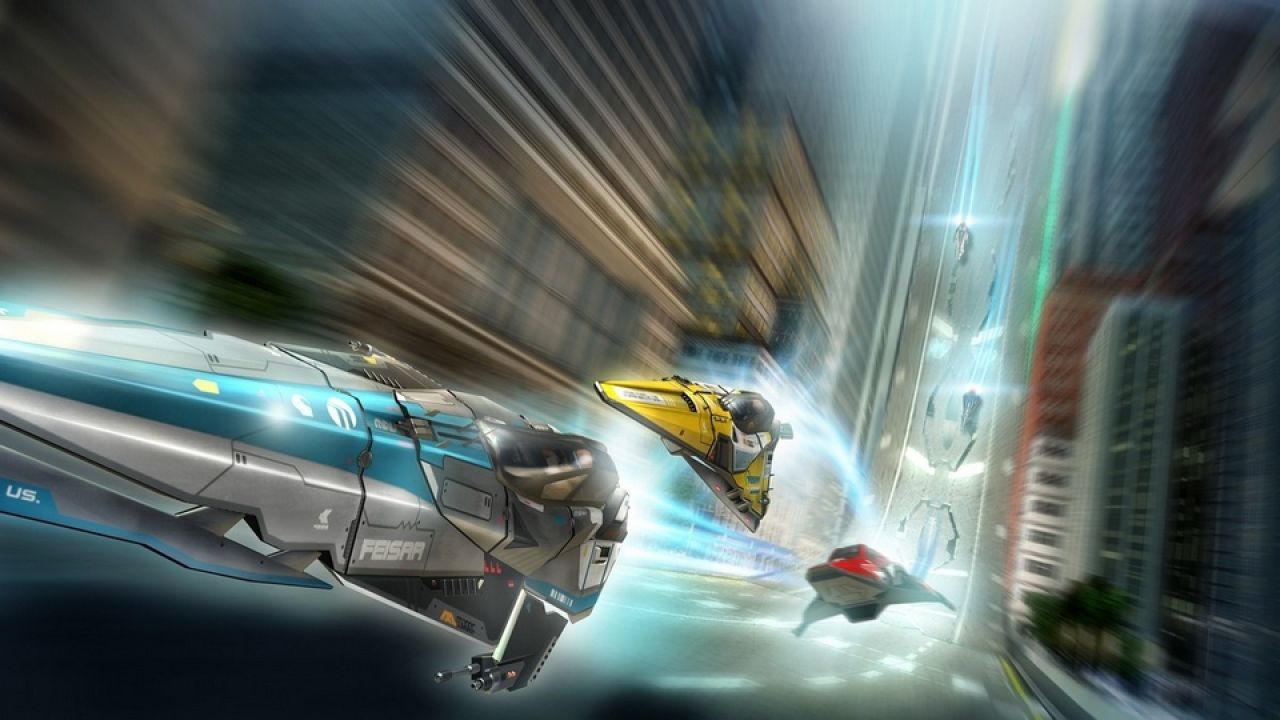 hands on WipEout 2048